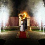 Фаер шоу на свадьбу Барнаул